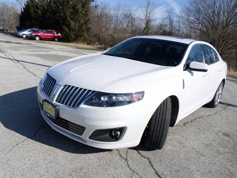 2012 Lincoln MKS for sale at Grand Prize Cars in Cedar Lake IN