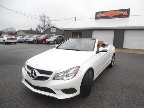 2015 Mercedes-Benz E-Class for sale at Grand Prize Cars in Cedar Lake IN