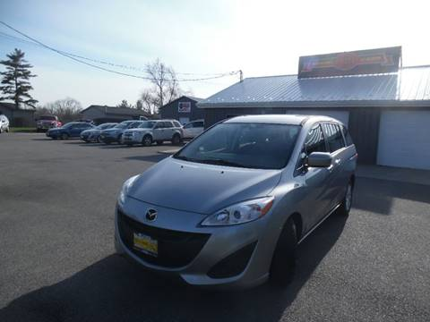 2012 Mazda MAZDA5 for sale at Grand Prize Cars in Cedar Lake IN