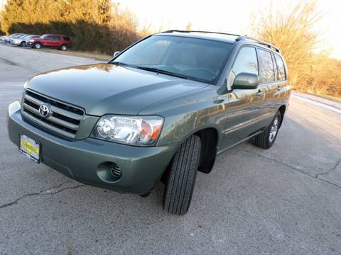 2005 Toyota Highlander for sale at Grand Prize Cars in Cedar Lake IN
