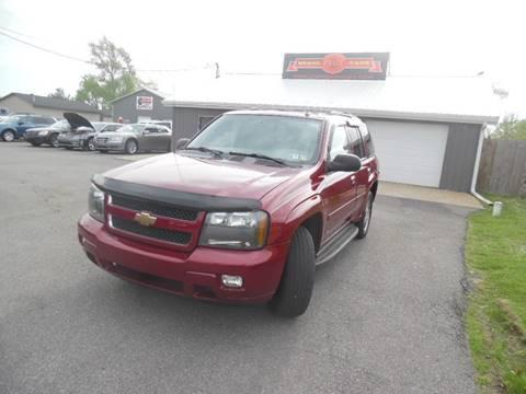 2008 Chevrolet TrailBlazer for sale at Grand Prize Cars in Cedar Lake IN