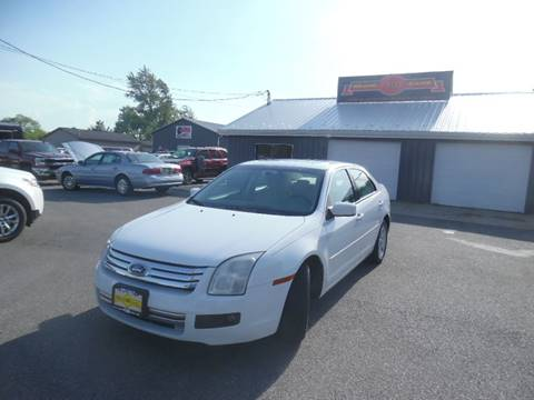 2006 Ford Fusion for sale at Grand Prize Cars in Cedar Lake IN