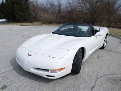 2001 Chevrolet Corvette for sale at Grand Prize Cars in Cedar Lake IN