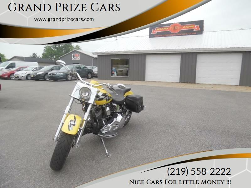 1993 Harley Davidson FLSTF FAT BOY for sale at Grand Prize Cars in Cedar Lake IN