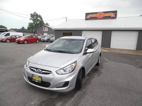 2012 Hyundai Accent for sale at Grand Prize Cars in Cedar Lake IN