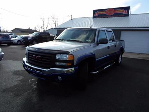 2006 GMC Sierra 1500 for sale at Grand Prize Cars in Cedar Lake IN