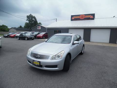 2008 Infiniti G35 for sale at Grand Prize Cars in Cedar Lake IN