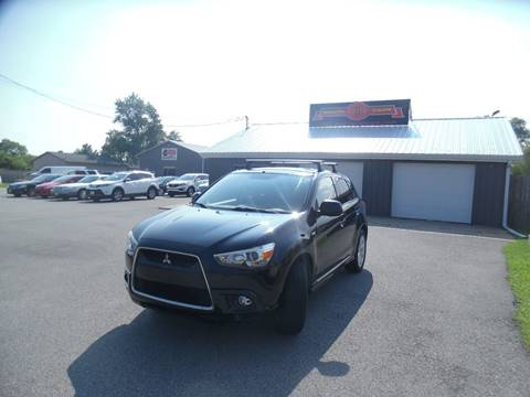2012 Mitsubishi Outlander Sport for sale at Grand Prize Cars in Cedar Lake IN