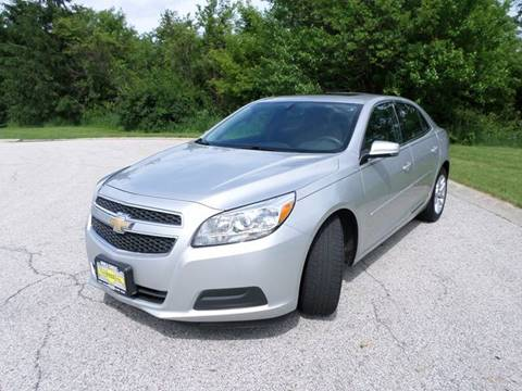 2013 Chevrolet Malibu for sale at Grand Prize Cars in Cedar Lake IN