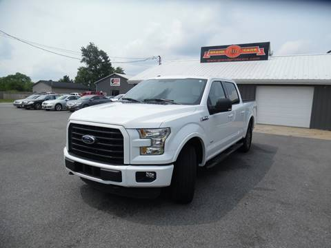 2016 Ford F-150 for sale at Grand Prize Cars in Cedar Lake IN