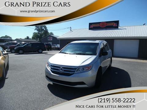 2012 Honda Odyssey for sale at Grand Prize Cars in Cedar Lake IN