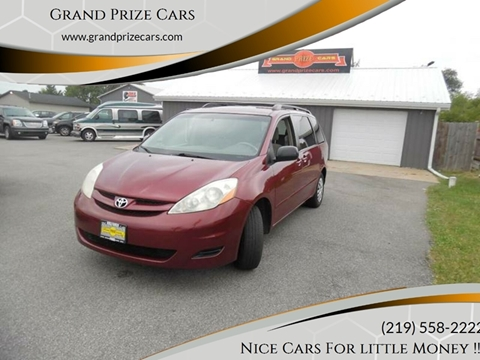 2006 Toyota Sienna for sale at Grand Prize Cars in Cedar Lake IN