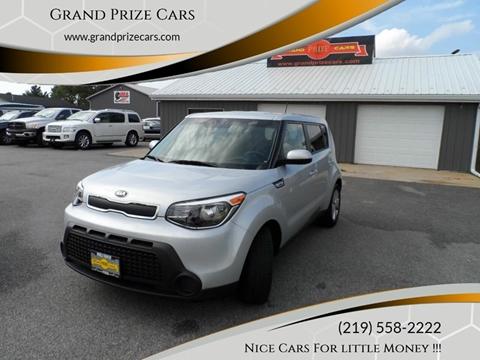2016 Kia Soul for sale at Grand Prize Cars in Cedar Lake IN