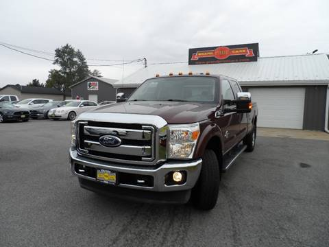 2011 Ford F-350 Super Duty for sale at Grand Prize Cars in Cedar Lake IN