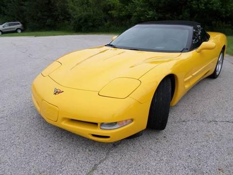 2000 Chevrolet Corvette for sale at Grand Prize Cars in Cedar Lake IN