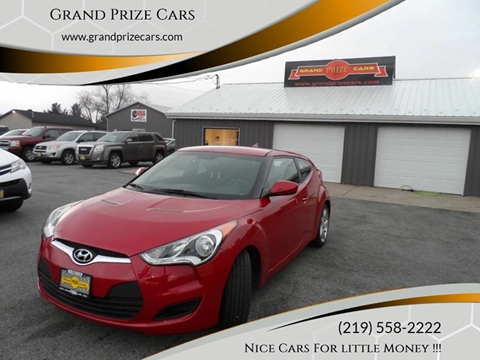 2015 Hyundai Veloster for sale at Grand Prize Cars in Cedar Lake IN