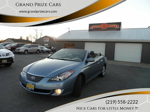 2005 Toyota Camry Solara for sale at Grand Prize Cars in Cedar Lake IN