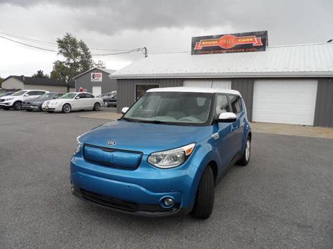 2015 Kia Soul EV for sale at Grand Prize Cars in Cedar Lake IN