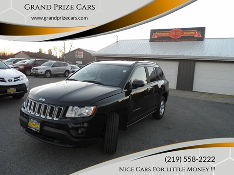 2013 Jeep Compass for sale at Grand Prize Cars in Cedar Lake IN