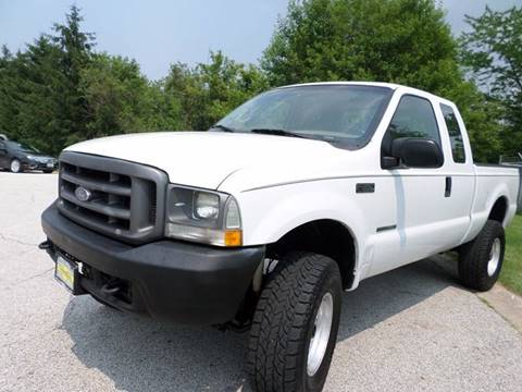 2002 Ford F-350 Super Duty for sale at Grand Prize Cars in Cedar Lake IN