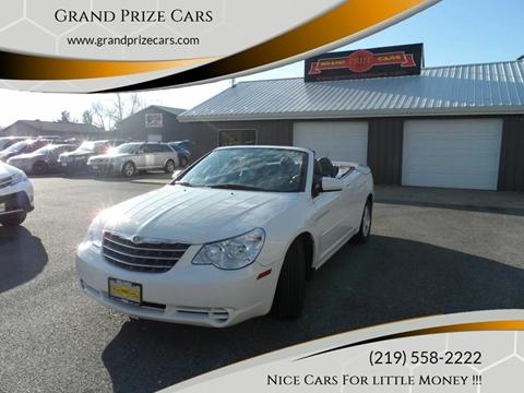 2008 Chrysler Sebring for sale at Grand Prize Cars in Cedar Lake IN