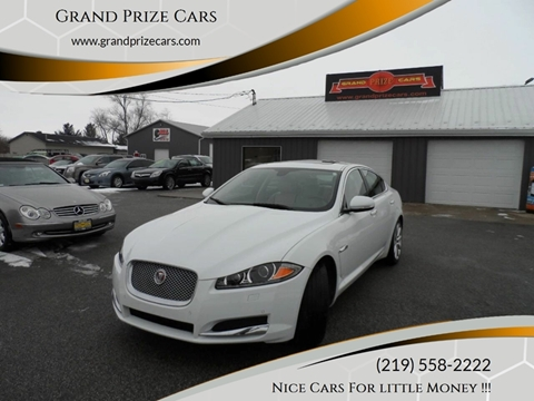 2014 Jaguar XF for sale at Grand Prize Cars in Cedar Lake IN