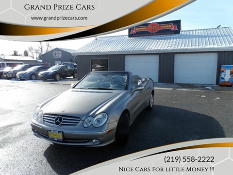 2004 Mercedes-Benz CLK for sale at Grand Prize Cars in Cedar Lake IN