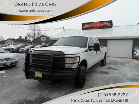 2012 Ford F-250 Super Duty for sale at Grand Prize Cars in Cedar Lake IN