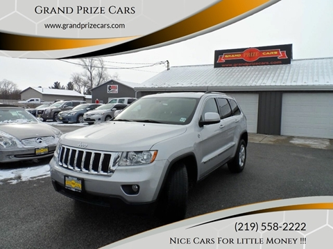 2011 Jeep Grand Cherokee for sale at Grand Prize Cars in Cedar Lake IN