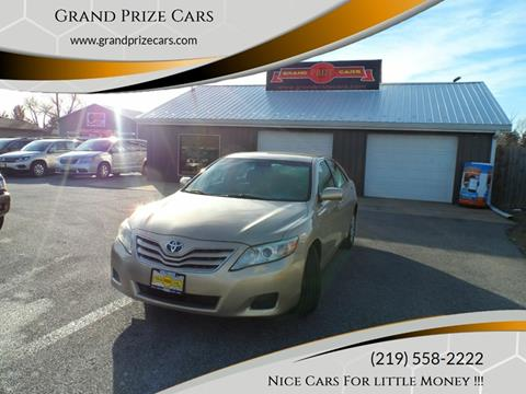 2011 Toyota Camry for sale at Grand Prize Cars in Cedar Lake IN