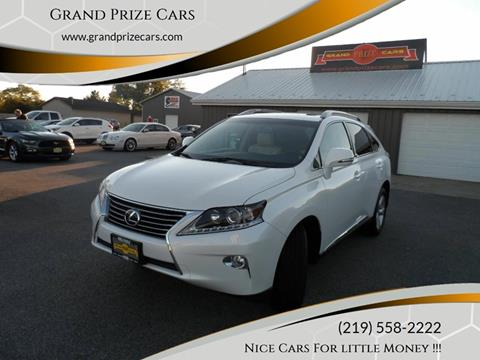 2015 Lexus RX 350 for sale at Grand Prize Cars in Cedar Lake IN