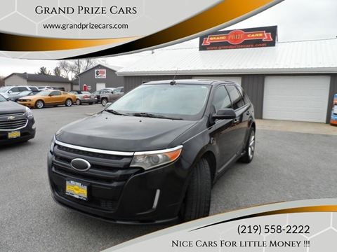 2014 Ford Edge for sale at Grand Prize Cars in Cedar Lake IN
