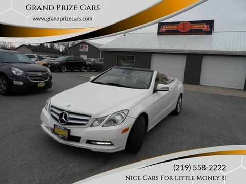 2011 Mercedes-Benz E-Class for sale at Grand Prize Cars in Cedar Lake IN