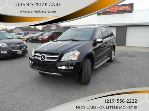 2010 Mercedes-Benz GL-Class for sale at Grand Prize Cars in Cedar Lake IN