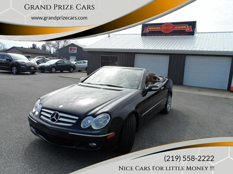 2008 Mercedes-Benz CLK for sale at Grand Prize Cars in Cedar Lake IN