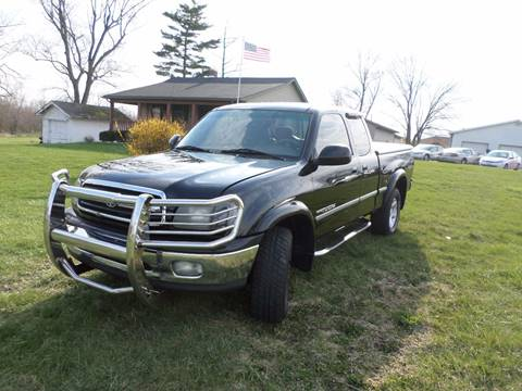 2002 Toyota Tundra for sale at Grand Prize Cars in Cedar Lake IN