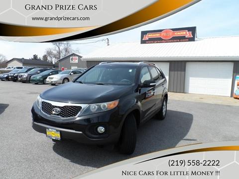 2011 Kia Sorento for sale at Grand Prize Cars in Cedar Lake IN