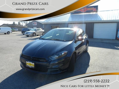 2014 Dodge Dart for sale at Grand Prize Cars in Cedar Lake IN
