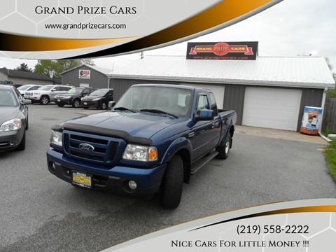 2011 Ford Ranger for sale at Grand Prize Cars in Cedar Lake IN