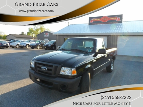2010 Ford Ranger for sale at Grand Prize Cars in Cedar Lake IN