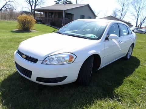 2008 Chevrolet Impala for sale at Grand Prize Cars in Cedar Lake IN