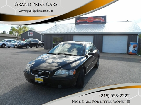 2006 Volvo S60 for sale at Grand Prize Cars in Cedar Lake IN