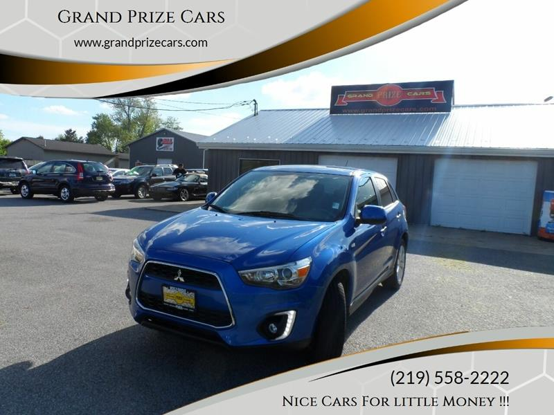 2015 Mitsubishi Outlander Sport for sale at Grand Prize Cars in Cedar Lake IN