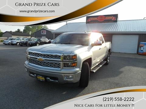 2014 Chevrolet Silverado 1500 for sale at Grand Prize Cars in Cedar Lake IN