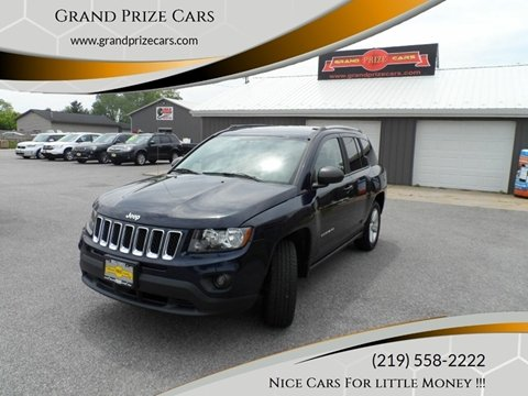 2016 Jeep Compass for sale at Grand Prize Cars in Cedar Lake IN