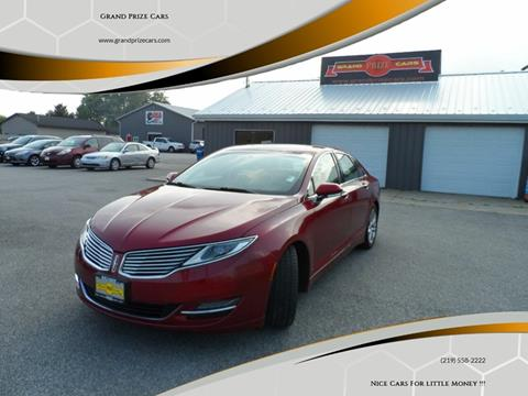 2014 Lincoln MKZ for sale at Grand Prize Cars in Cedar Lake IN
