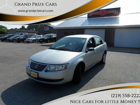2006 Saturn Ion for sale at Grand Prize Cars in Cedar Lake IN