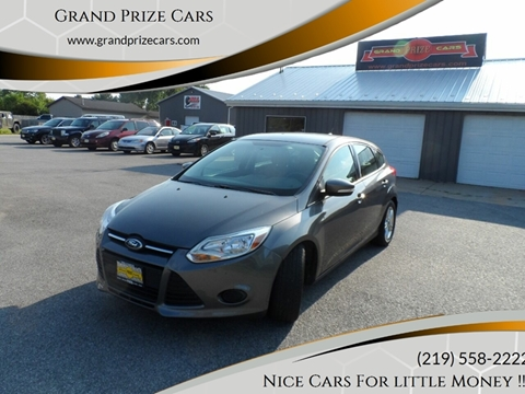 2014 Ford Focus for sale at Grand Prize Cars in Cedar Lake IN