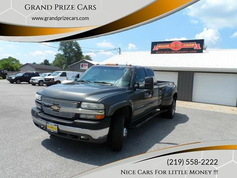 2002 Chevrolet Silverado 3500 for sale at Grand Prize Cars in Cedar Lake IN