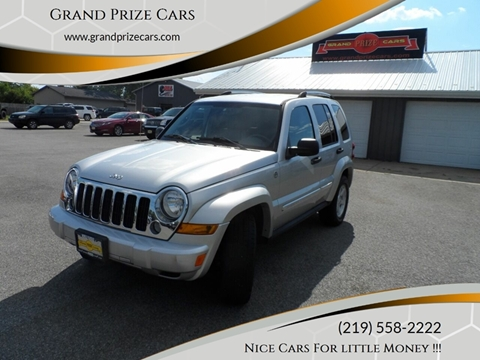 2005 Jeep Liberty for sale at Grand Prize Cars in Cedar Lake IN